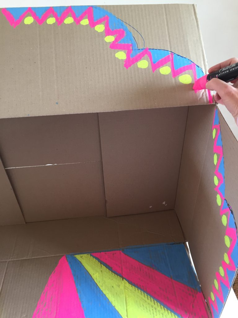 Cardboard Box Fairground Game An Eco Friendly Party Game Kids Will Love